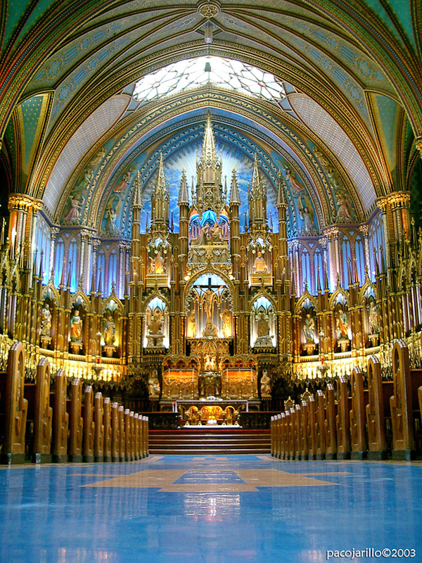 Altar azul
