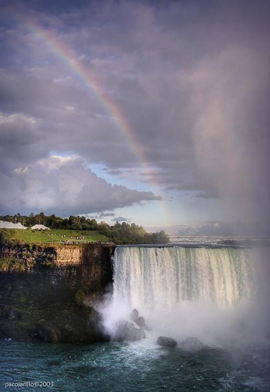 Arcoiris en Niagara