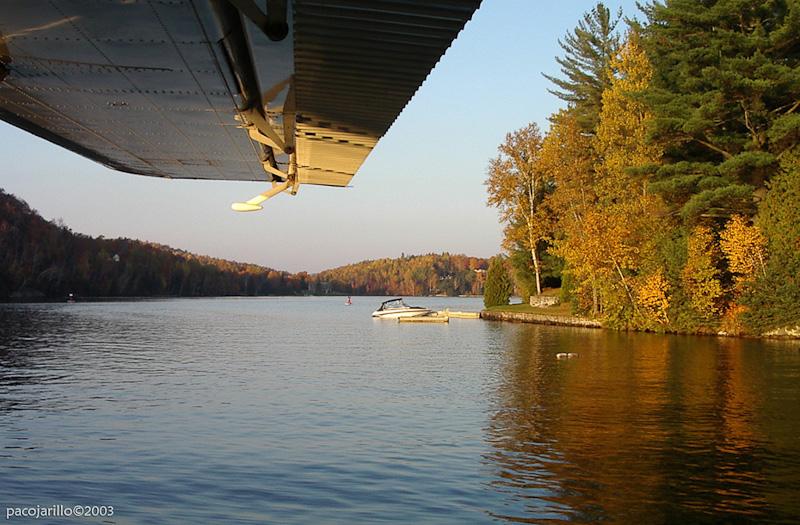 Lago calmado