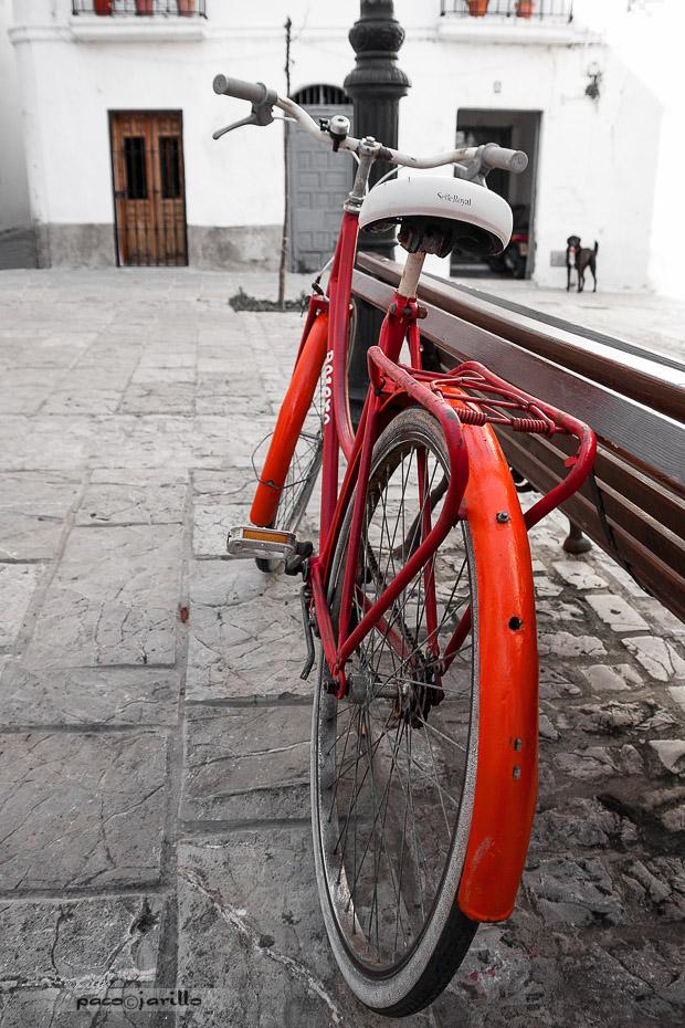 La bici roja