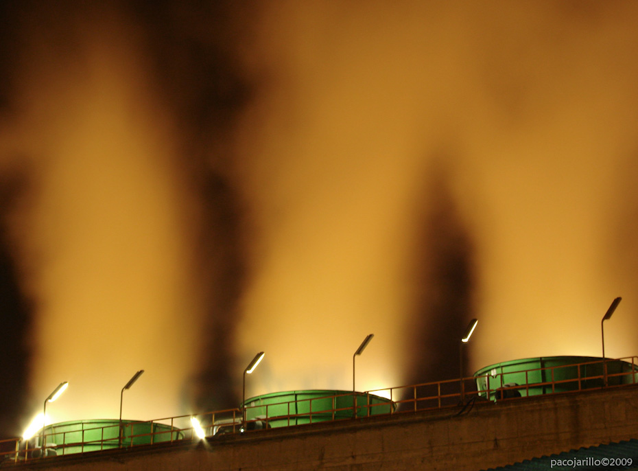 Columnas de vapor